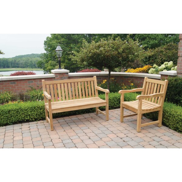 English Garden Teak Patio Chair by Jewels of Java