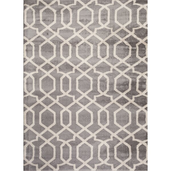 Ryann Gray/Ivory Area Rug by Zipcode Design