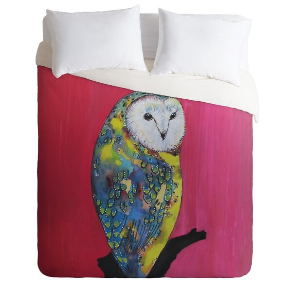 Owl On Lipstick Duvet Cover Collection