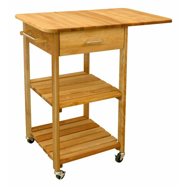 Kitchen Cart with Butcher Block Top by Catskill Craftsmen, Inc.