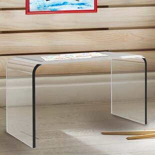 Affordable Price Rudisill Acrylic End Table by Orren Ellis