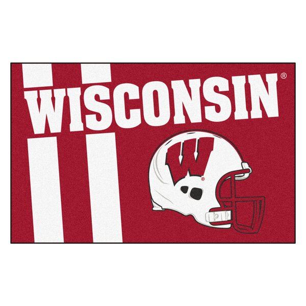 NCAA University of Wisconsin Starter Doormat by FANMATS