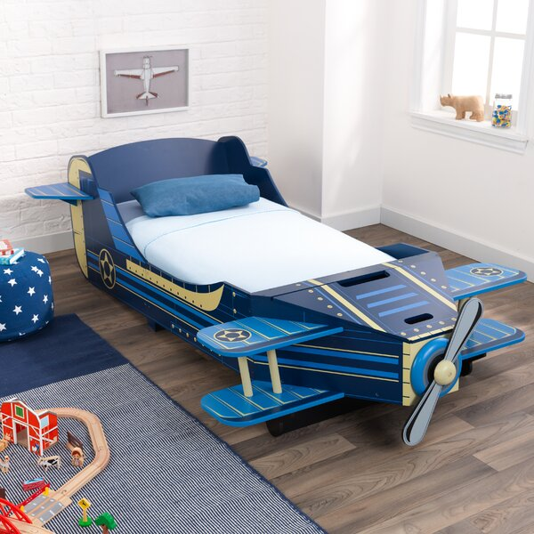 Airplane Toddler Car Bed with Storage by KidKraft