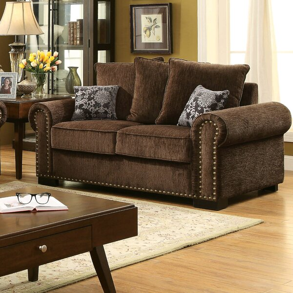 Gunilla Chenille Loveseat By Darby Home Co Top Reviews