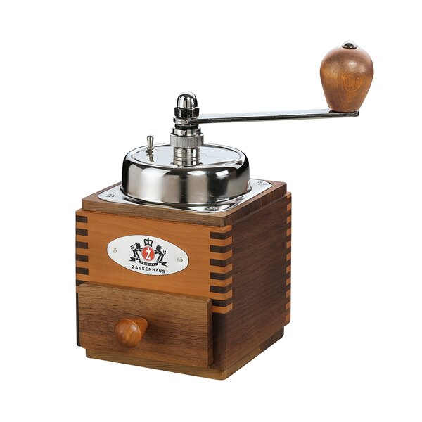 Montevideo Wood Manual Coffee Grinder by Frieling