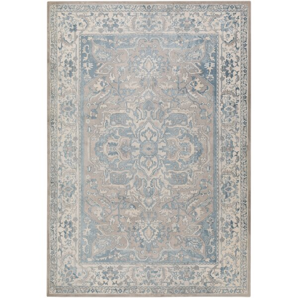 Kestner Blue Area Rug by Ophelia & Co.