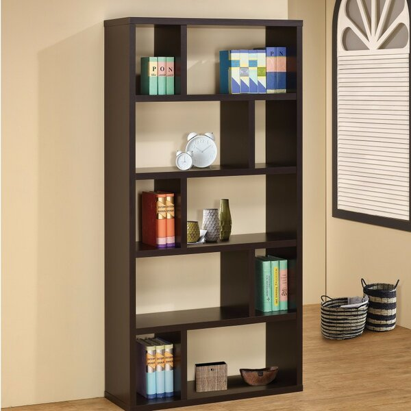 Stadtfeld Geometrical Rectangular Cube Unit Bookcase by Ebern Designs