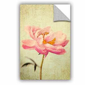 Judy Stalus Coral Peony 1 Wall Decal