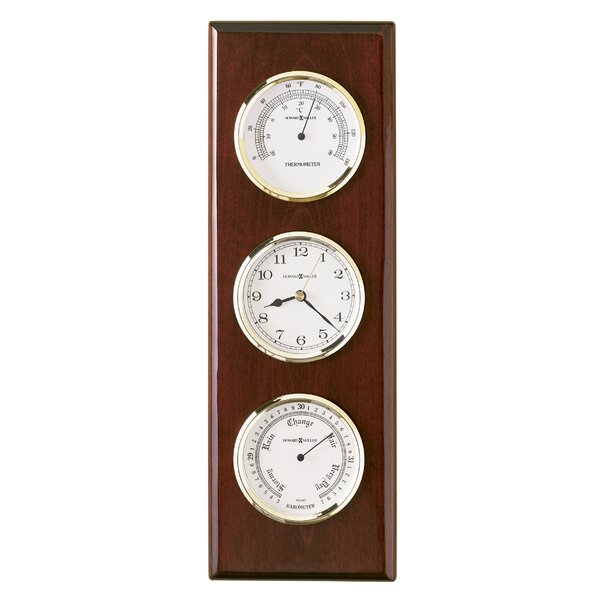 Weather And Maritime Shore Station Wall Clock By Howard Miller®.