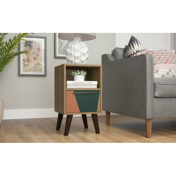 Kane 1 Drawer Nightstand by George Oliver