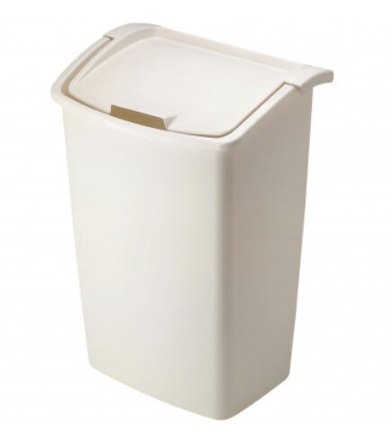 Plastic 11.25 Gallon Trash Can (Set of 6) by Rubbermaid
