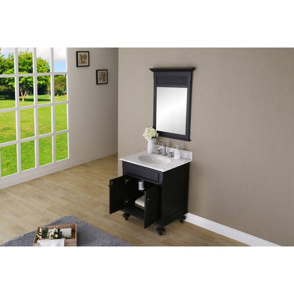 Carlson 30 W Single Bathroom Vanity Set with Mirror by dCOR design