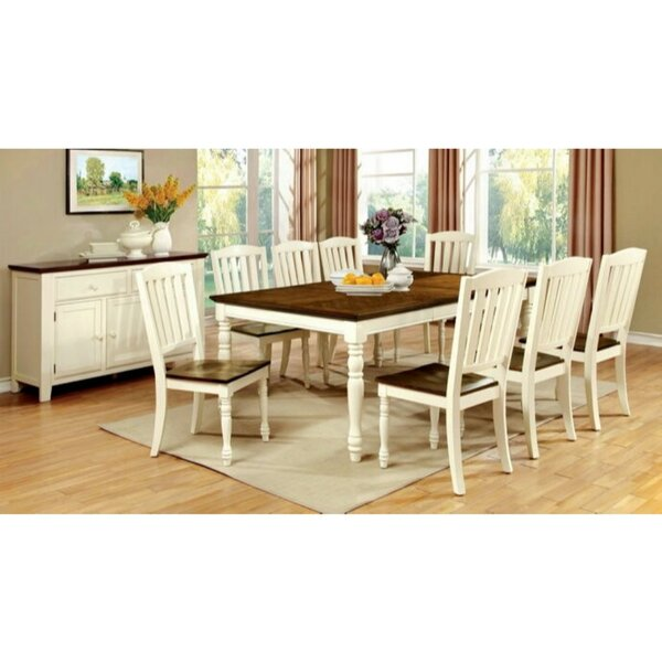 Asuka 9 Piece Solid Wood Dining Set by August Grove August Grove