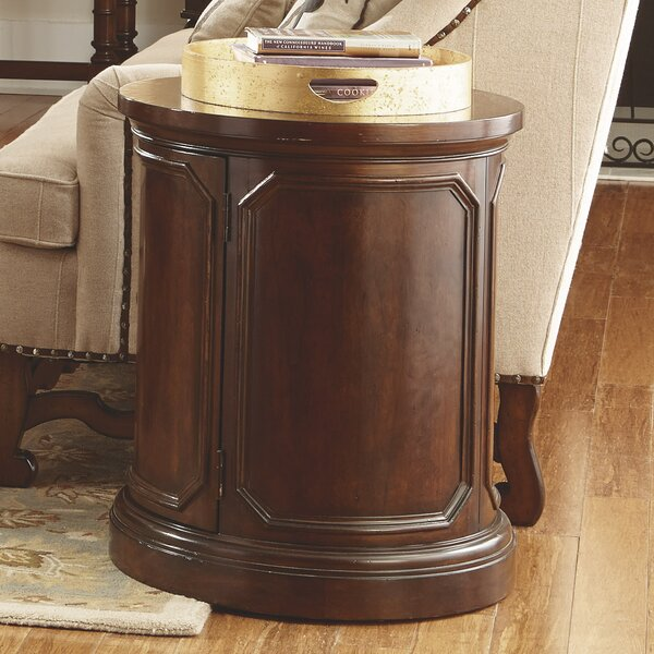 Creeve End Table with Storage by Astoria Grand