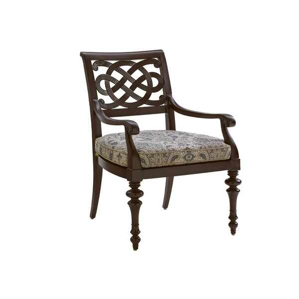 Royal Kahala Patio Dining Chair with Cushion by To