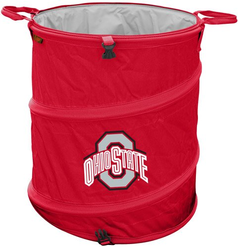 Collegiate Trash Can - Ohio State by Logo Brands
