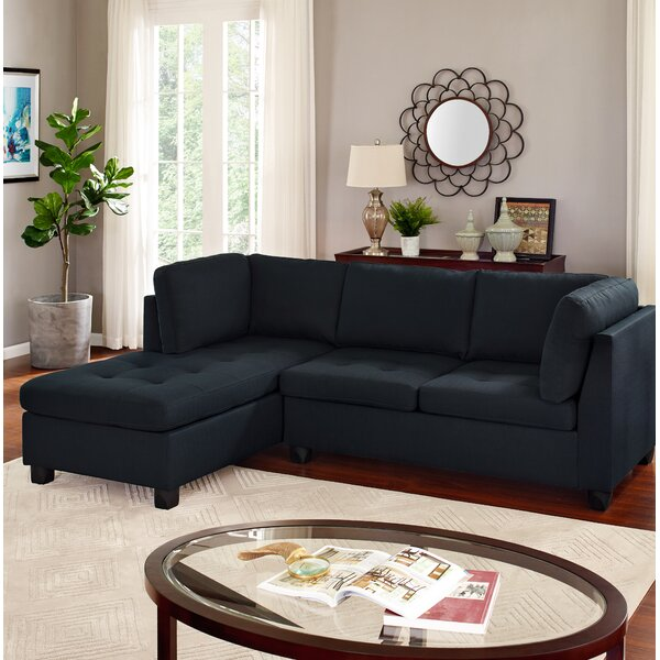 Hollingshed Reversible Sectional By Wrought Studio Cheap
