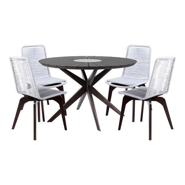 Troutt 5 Piece Dining Set by Foundry Select