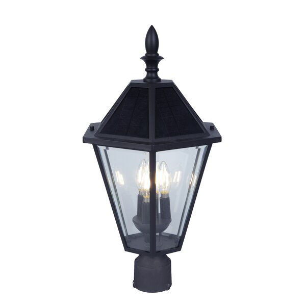 Crisler Solar 3-Light LED Lantern Head by Darby Home Co