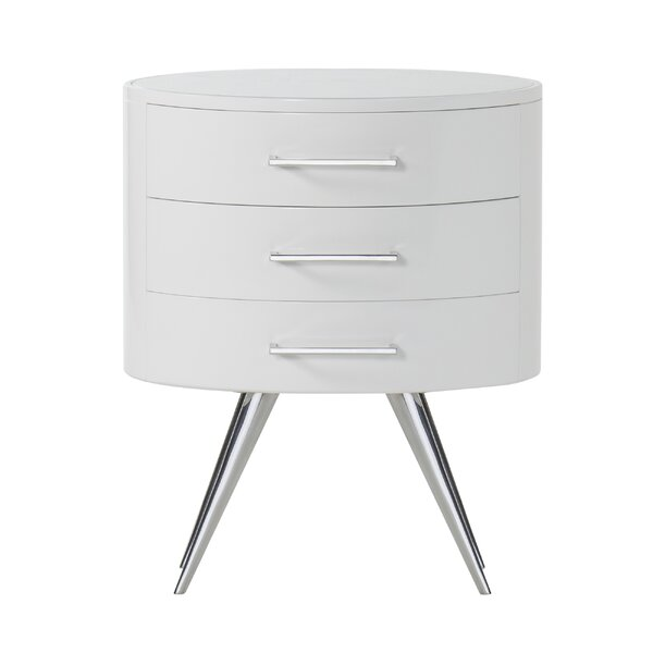 Diaz Extra 3 Drawer Nightstand by Sonder Living