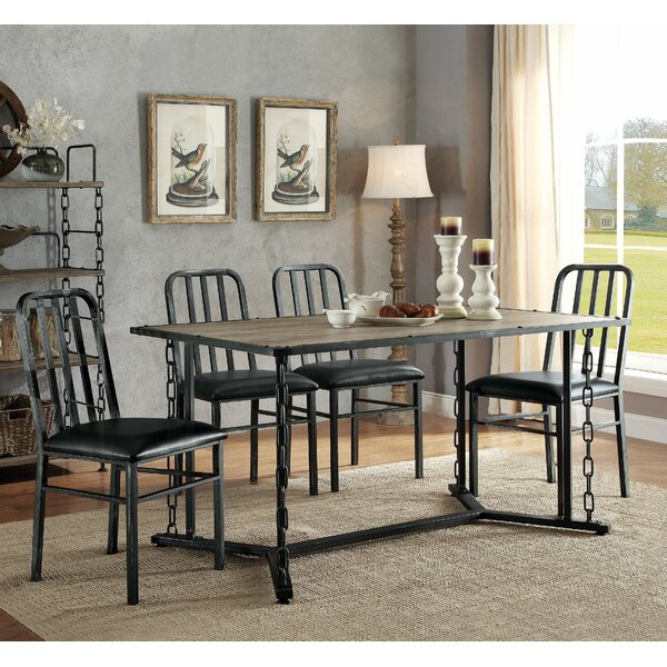 Virginia 5 Piece Dining Set by 17 Stories