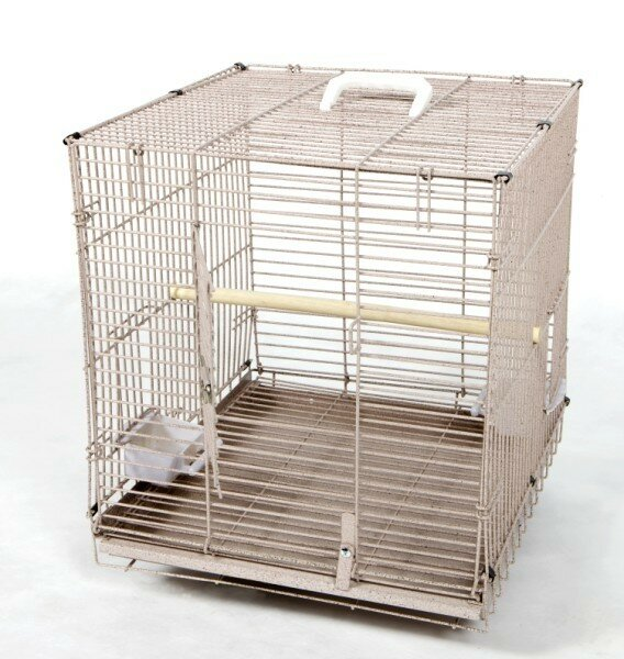 Jaxon Folding Travel Carrier  Bird Cage by Tucker Murphy Pet