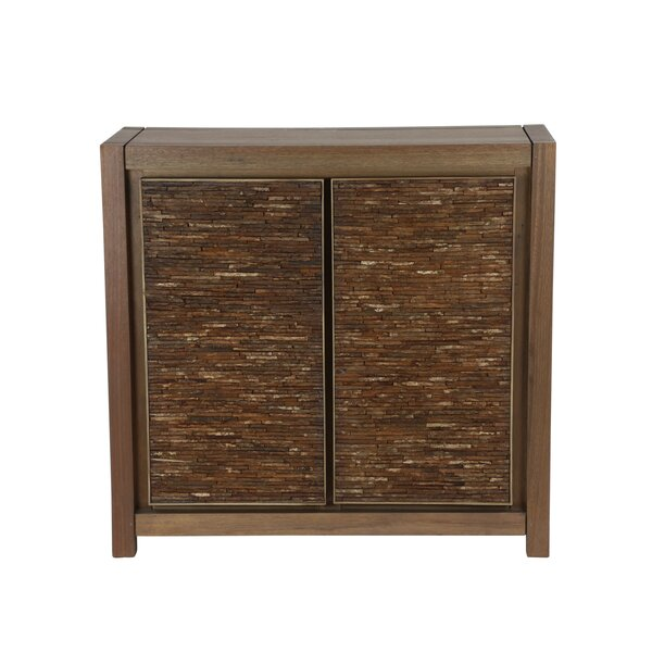 Richburg Reclaimed Wood 2 Door Accent Cabinet by Millwood Pines
