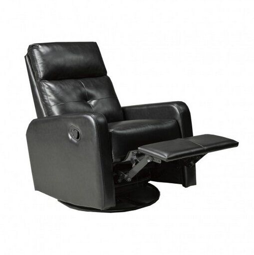 Candace and Basil Manual Rocker Recliner by Brassex