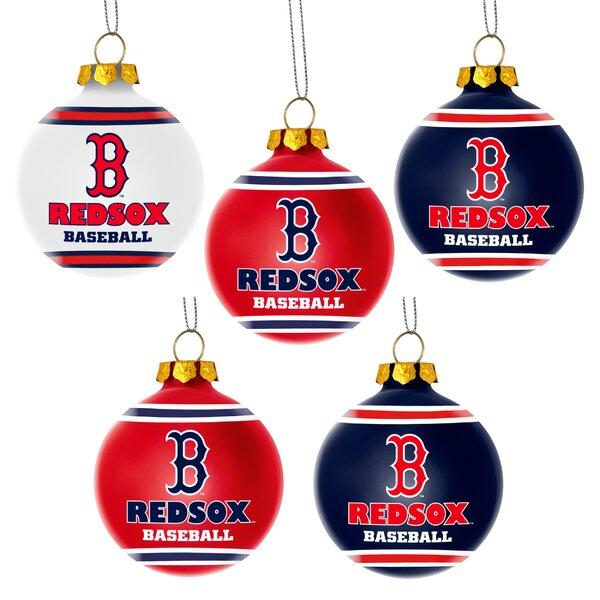 Shatterproof Ball Ornament (Set of 5) by Forever Collectibles