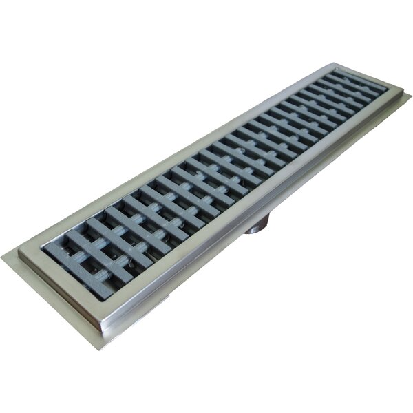 Floor Water Receptacle Grid Shower Drain by IMC Teddy