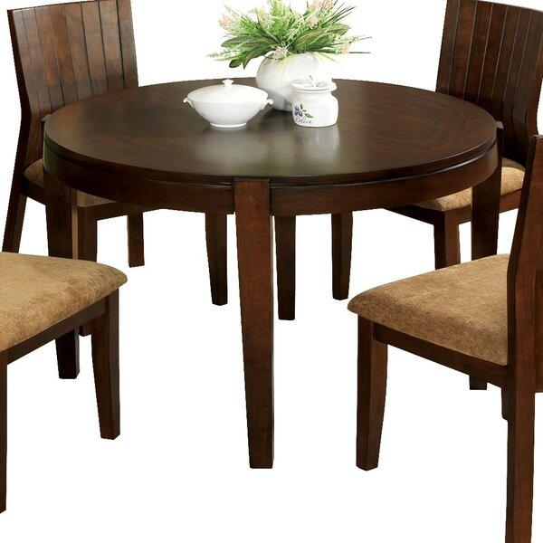 Mosher Solid Oak Dining Table by Winston Porter Winston Porter