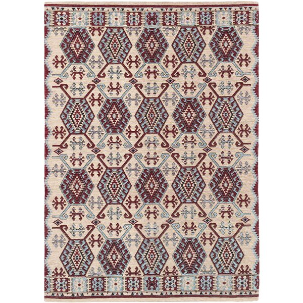 Burma Traditional Ivory Area Rug by Loon Peak