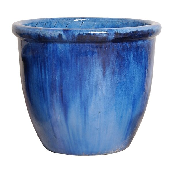 Classic Ceramic Pot Planter by Emissary Home and Garden