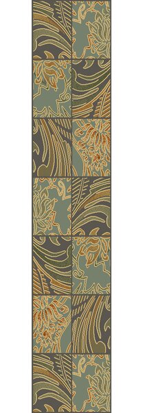 Attamore Blue Fauna Area Rug by Charlton Home