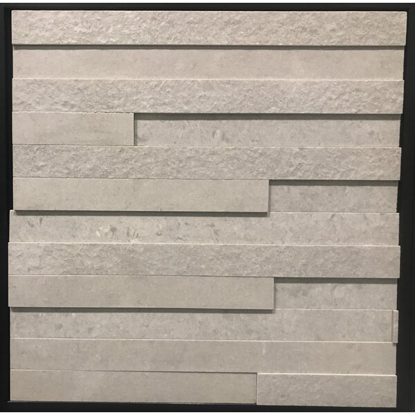 Land Andorra Grigio Porcelain Mosaic Tile in Gray by Kertiles