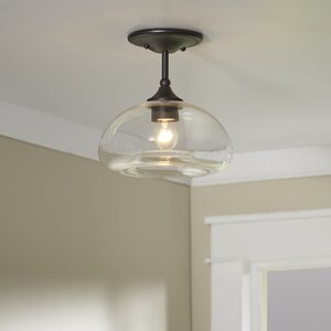 Salter 1-Light Semi Flush Mount