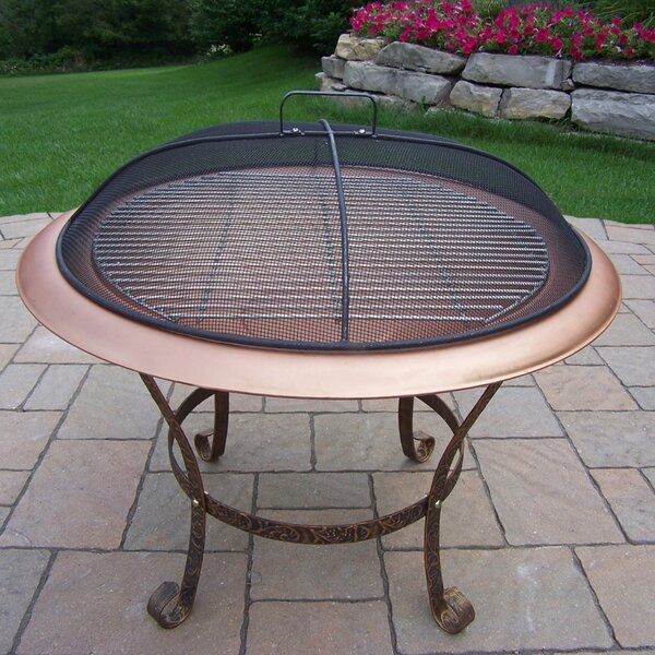 Cast Iron Wood Burning Fire Pit by Oakland Living