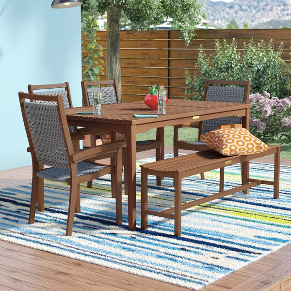 Moana 6 Piece Dining Set by Beachcrest Home