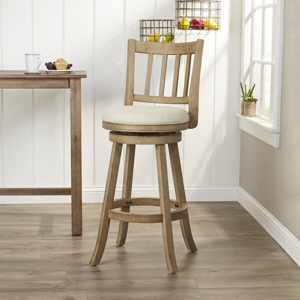 Naelle 29 Swivel Bar Stool by Lark Manor