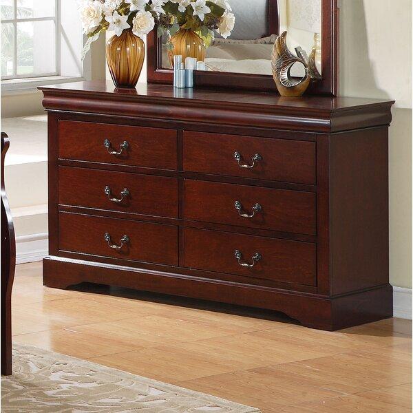 Lewiston Standard 6 Drawer Standard Dresser/Chest by Standard Furniture