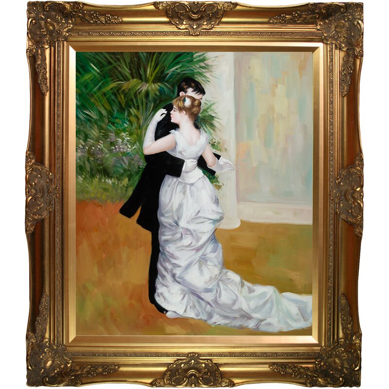 The dance in the city by Pierre-Auguste Renoir Giclee Fine ArtRepro on Canvas