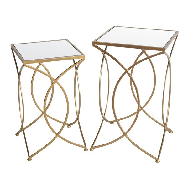 Mahala Frame Nesting Tables (Set Of 2) By Everly Quinn