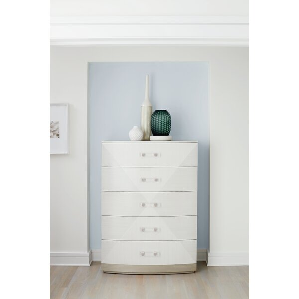 Axiom Tall 5 Drawer Chest by Bernhardt