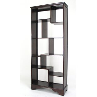 Clint Geometric Bookcase by DarHome Co 2019 Sale