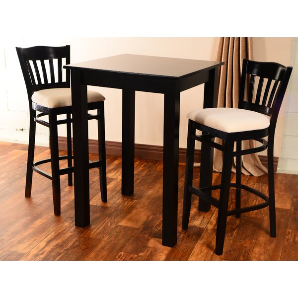 Eberhard 3 Piece Pub Table Set by Darby Home Co
