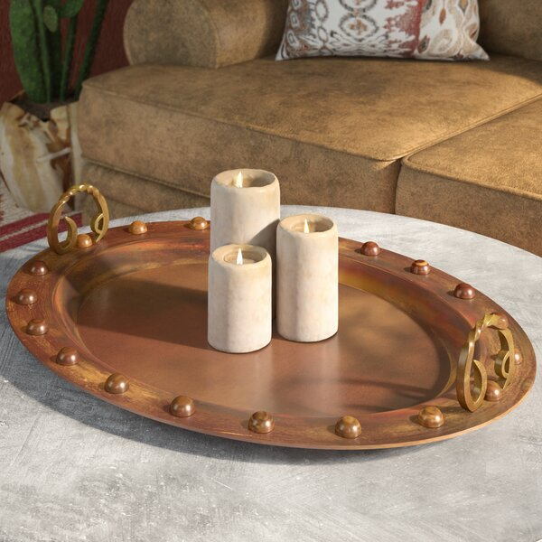 Cercis Copper Serving Tray by Loon Peak
