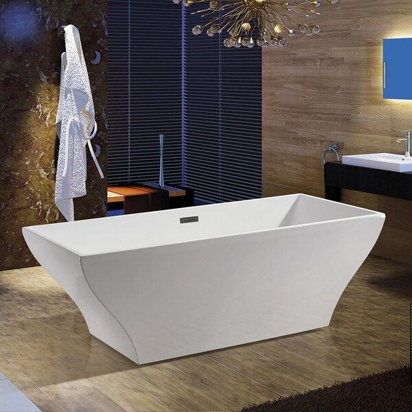 67 x 32 Freestanding Soaking Bathtub by AKDY