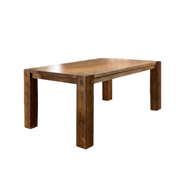 Whitham Transitional Solid Wood Dining Table by Loon Peak