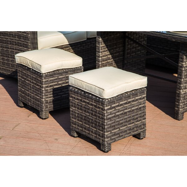 Riddle 5 Piece Dining Set With Cushions by Canora Grey