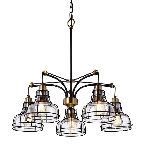 Sealey 5-Light Shaded Classic / Traditional Chandelier by Williston Forge Williston Forge